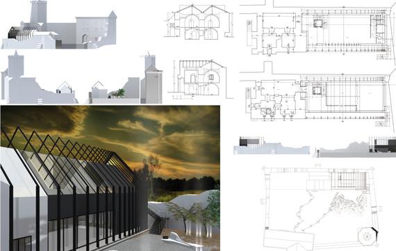 konserwacja i ochrona zabytków pawilon konferencyjno wystawienniczy