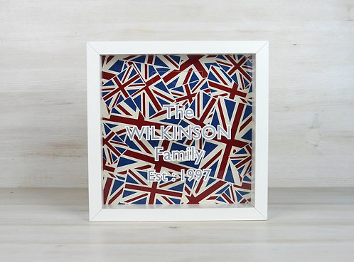 Union Jack Personalised Money Box