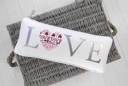 Emma Bridgewater Sampler Love Cushion