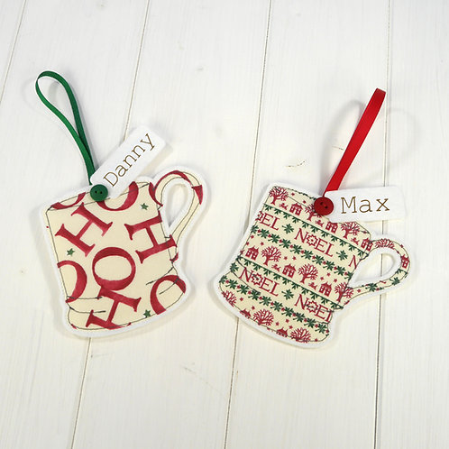 Emma Bridgewater Mug Christmas Decorations