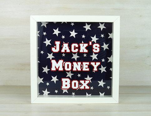 Varsity Personalised Money Box - Navy