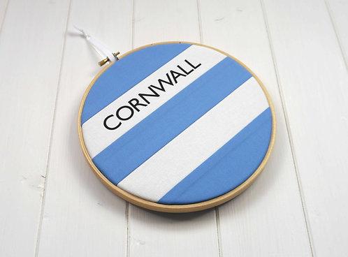 Cornish Stripe Blue Hoop