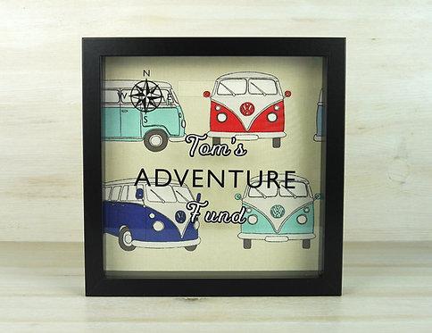 Adventure Fund Personalised Money Box