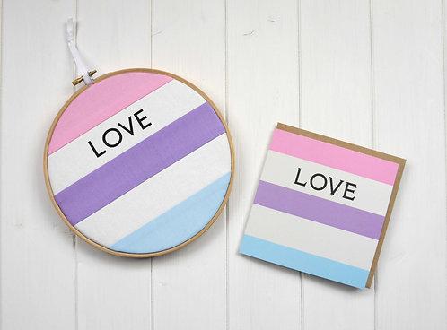 Love Hoop Gift Set