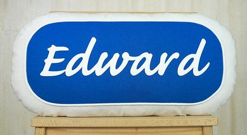 Lozenge Name Cushion