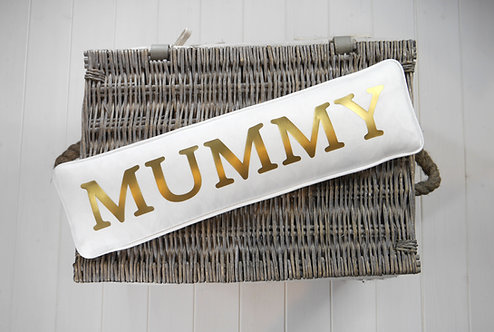 Mummy Small Name Cushion
