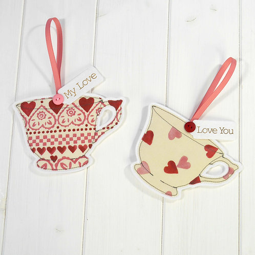 Emma Bridgewater Teacup Valentine's Decorations