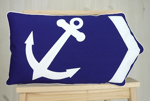 Anchor Arrow Cushion