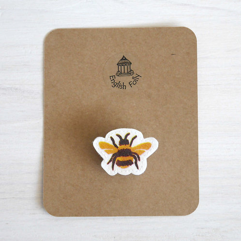 EB Bumble Bee Pin Brooch