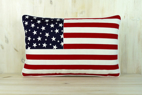 USA Stars & Stripes Cushion