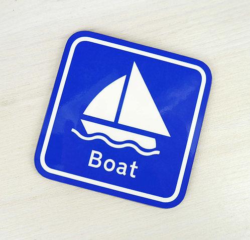Sailing Boat Coaster