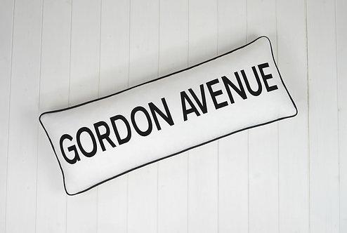 UK Road Sign Cushion