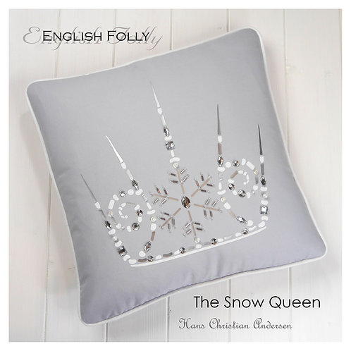 Snow Queen Crown Cushion