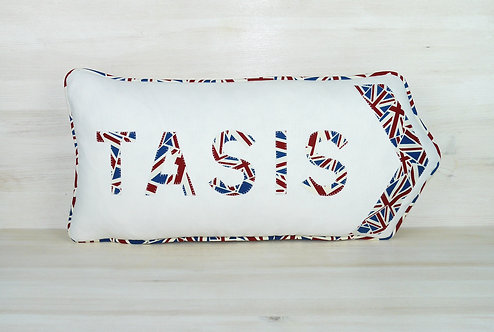 TASIS Arrow Cushion UK Print