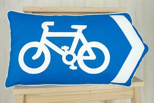 Bike Arrow Cushion