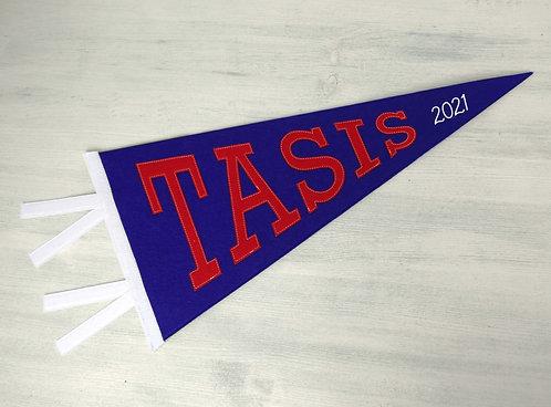 TASIS Blue Pennant