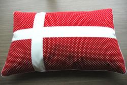 Danish Flag Cushion