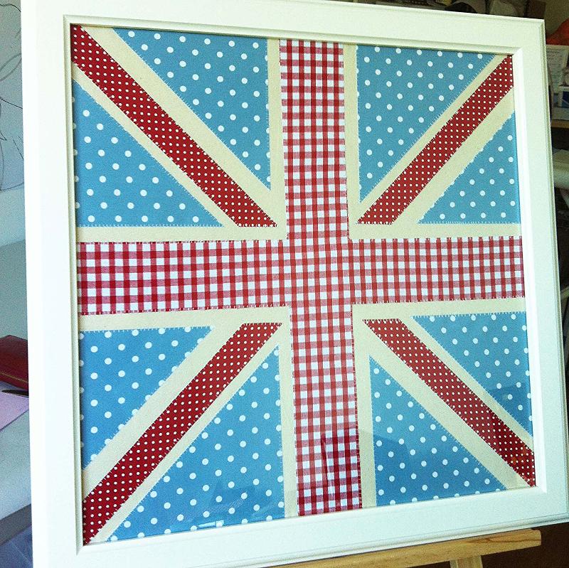 Large UK Framed Appliqué