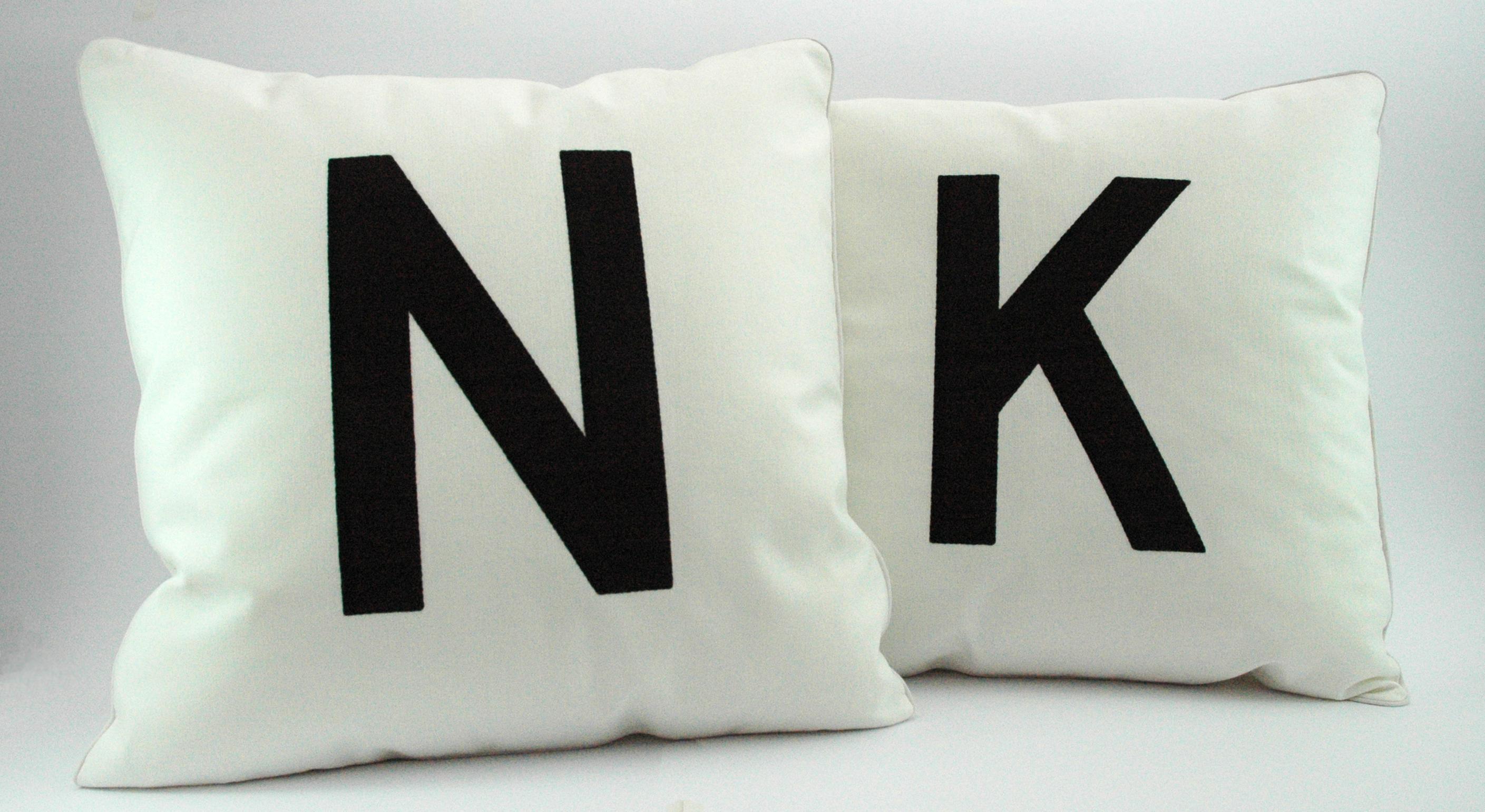Tile Mono Cushions