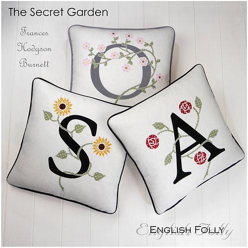 Secret Garden Monogram Cushions