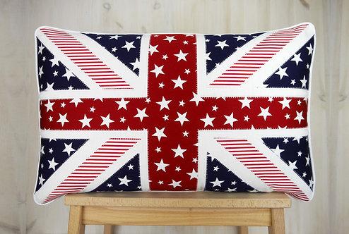 Stars & Stripes Union Jack Cushion