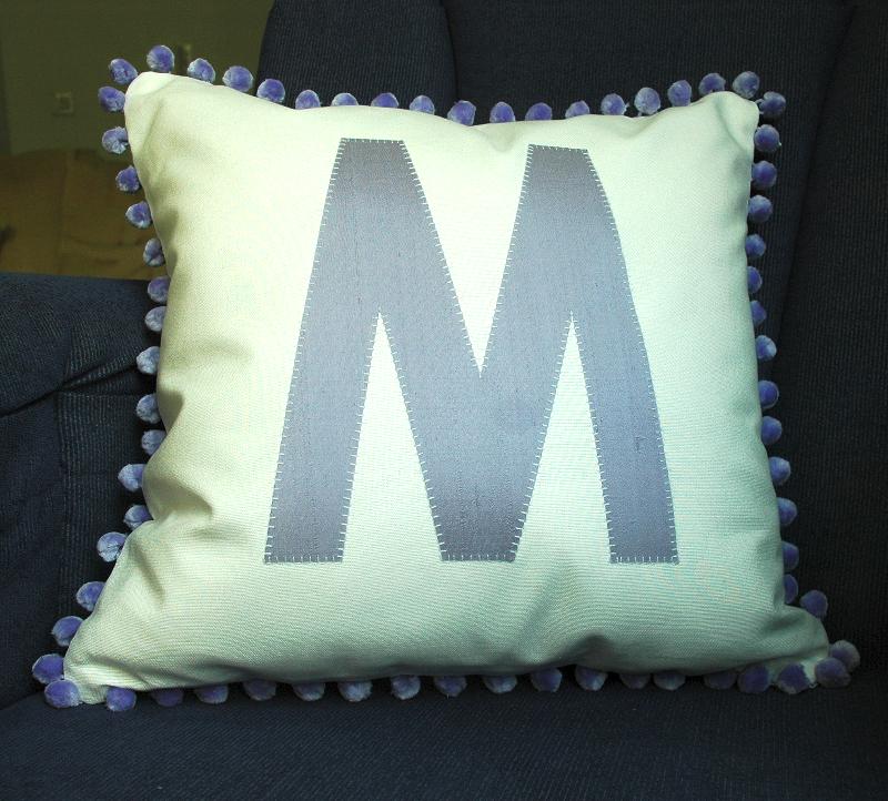 Pom Pom Mono Cushion