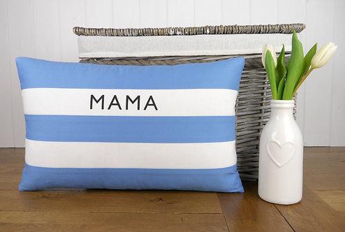 Cornish Folly Mother's Day Stripe Cushion