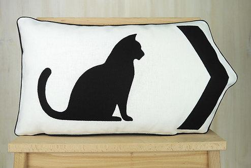 Cat Arrow Cushion