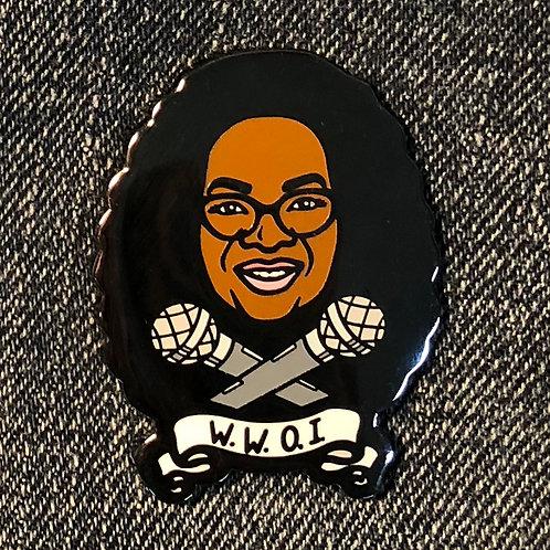 Oprah Hard Enamel Pin