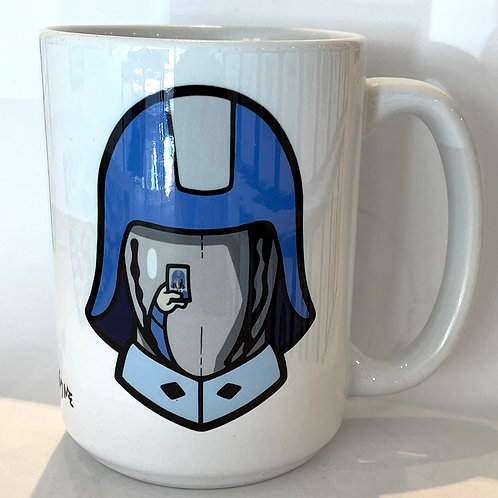 Selfie Commander 15oz Mug