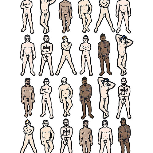 Nudes Signed Prints