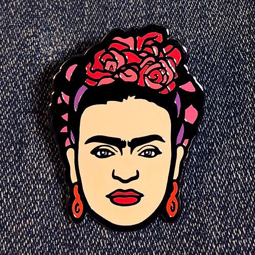 Frida Hard Enamel Pin