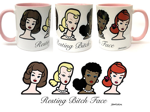 Resting Bitch Face Mug