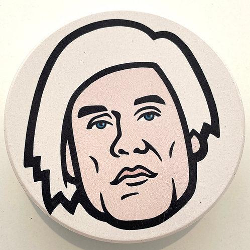Warhol Coaster