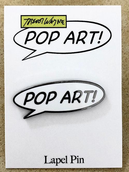 Pop Art Hard Enamel Pin