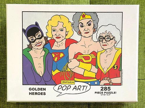 Golden Heroes Puzzle