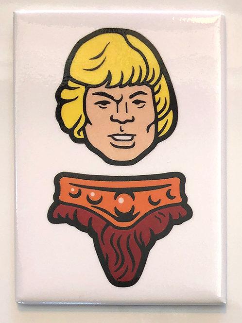 He-Man Magnet