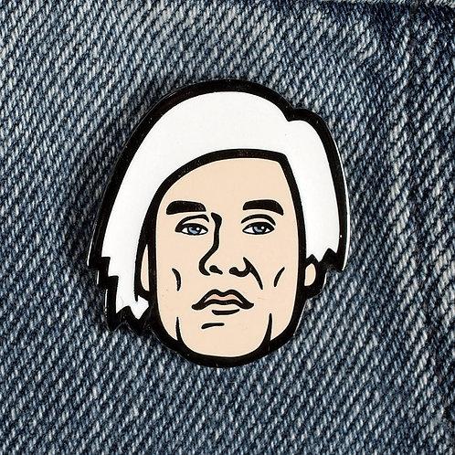 Warhol Hard Enamel Pin