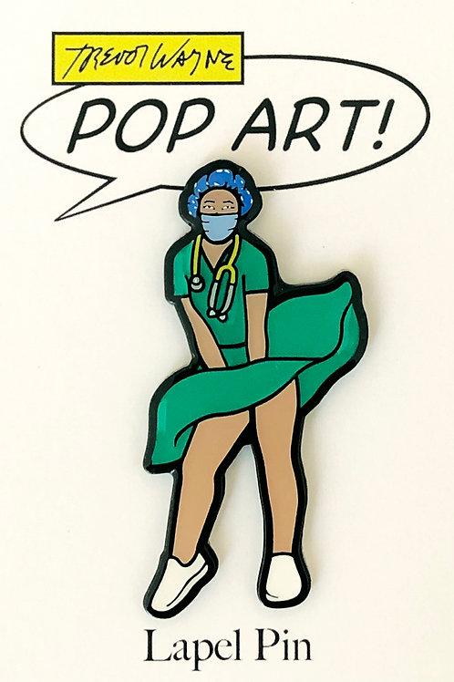 Nurse Soft Enamel Pin