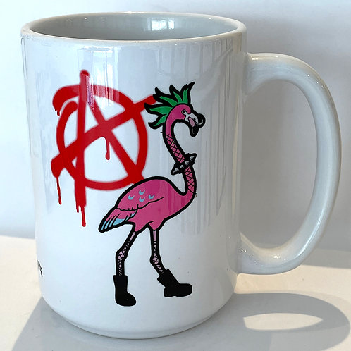 Punk Flamingo 15oz Mug