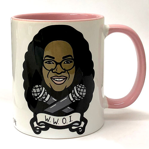 Who Would Oprah Interview Mug