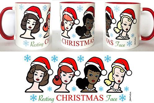Christmas Face Mug