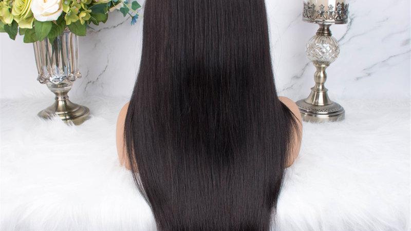 Brazilian Hair Lace Front Wig,Virgin Cuticle Align Human Hair 13x4