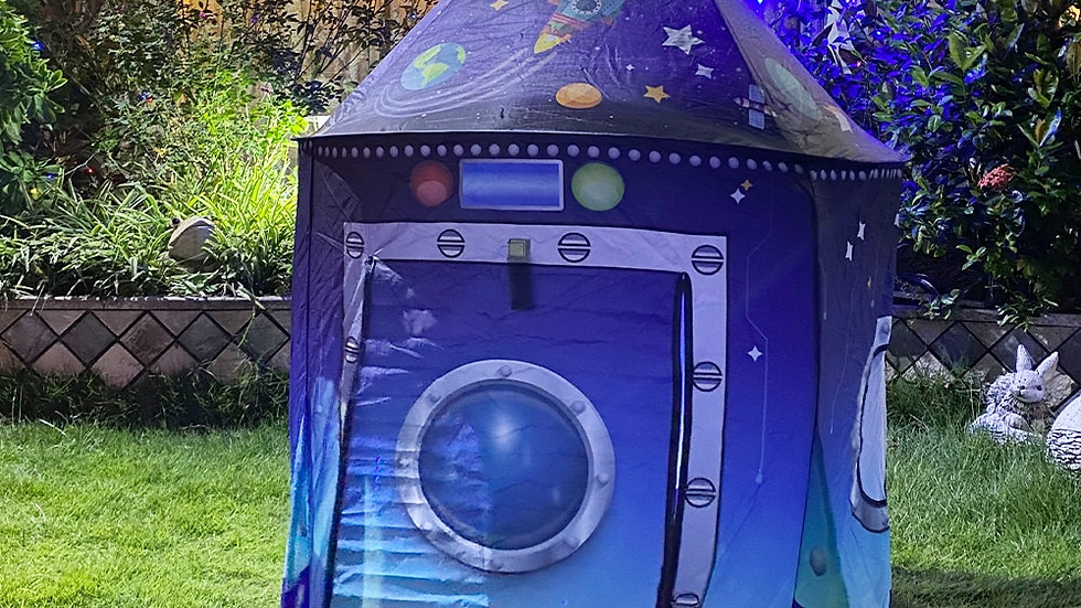 YARD or indoor Kids Space Tent