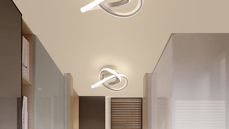 Led Ceiling Light Modern Minimalist Balcony Aisle Lamp Home Ceiling Lamp