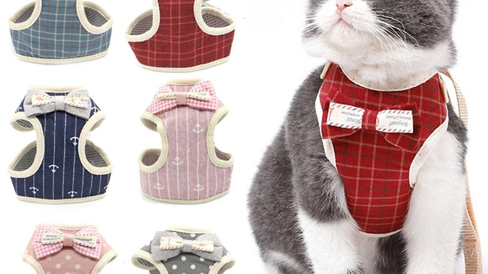 Dog/Cat Harness and Leash Set