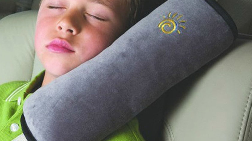 Kid Car Pillow/Auto Safety Seat Belt Shoulder Cushion Pad Protection Support