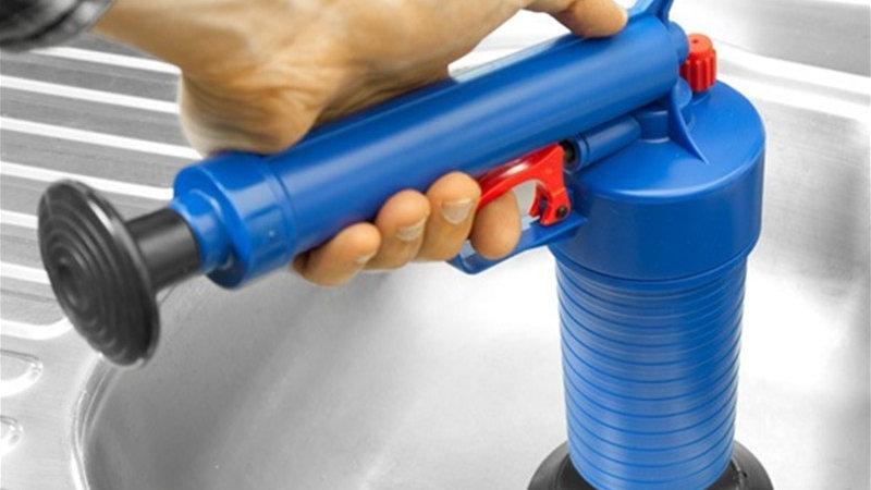 High Pressure Air Drain Blaster Pump Plunger/Pipe Clog/sink/toilet