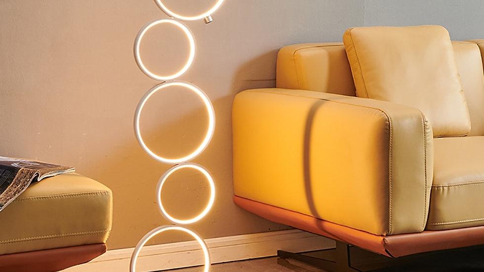 LED Floor Lamp Rings Standing Light