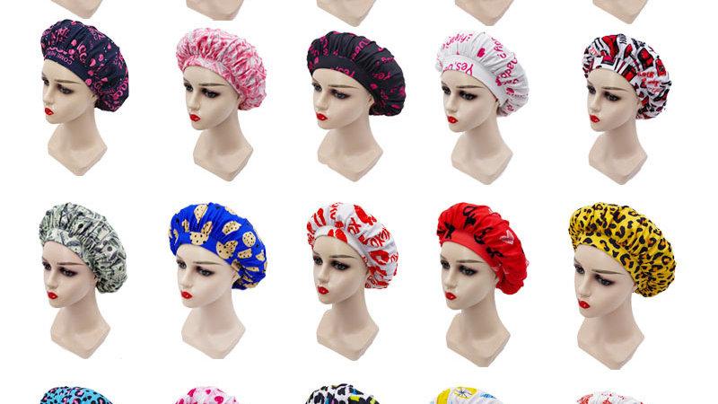 """Summa """"Girl Go Head"""" Soft Hair Bonnets"""